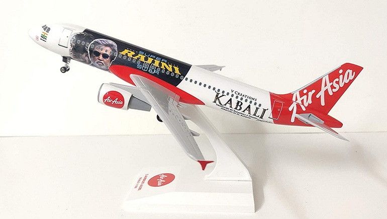 AirAsia Kabali Model Flight